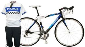幕張メッセで行われた日本最大級の自転車ショー「サイクルモード 2008」にKaepa 自転車出展