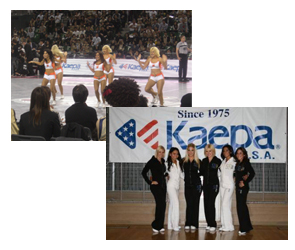 bjリーグ2009-2010シーズンプレイオフファイナル・チア企画を協賛