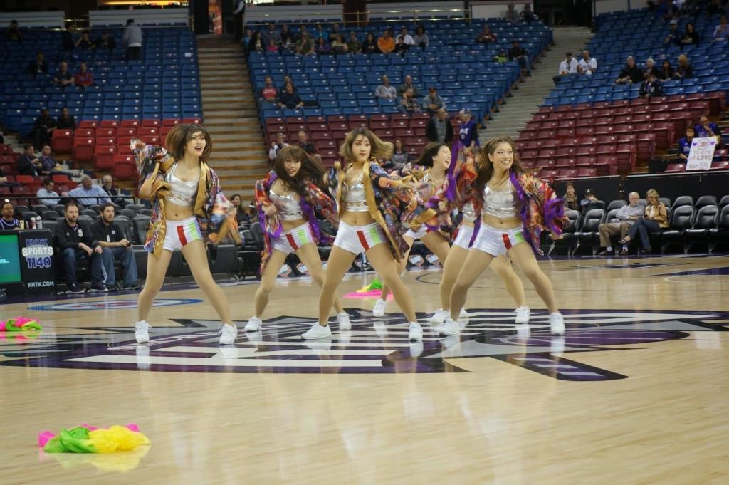 LOICX GIRLS☆がNBA公式戦でダンスパフォーマンスを行いました。