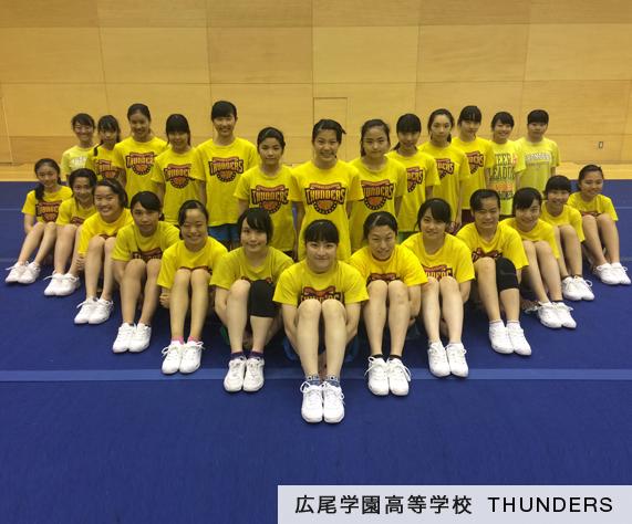 広尾学園高等学校–THUNDERS