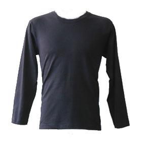 長袖丸首Tシャツ(914-33920)