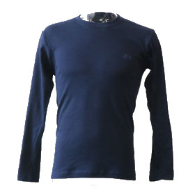 長袖丸首Tシャツ(914-36100)