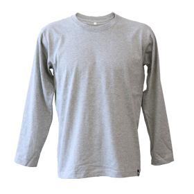 長袖丸首Tシャツ