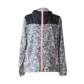 ストレッチフード付きジャケット