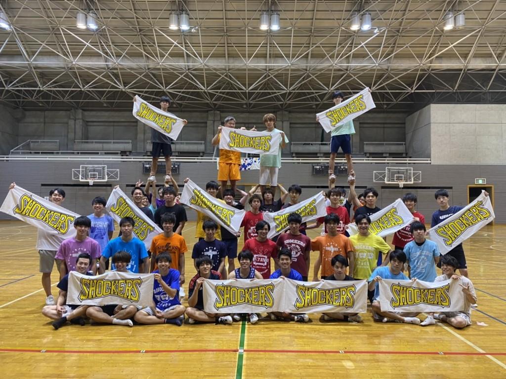 早稲田大学の男子チアチームSHOCKERSに、Kaepaチアタオルを提供致しました。