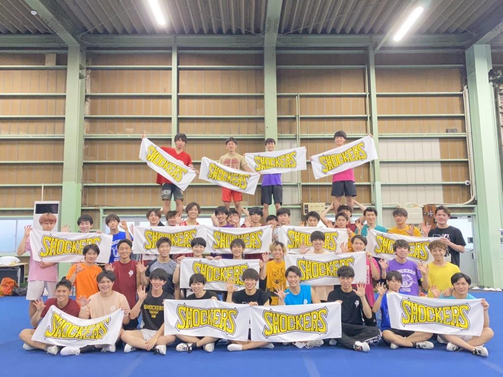 今年も、早稲田大学男子チアリーディングのSHOCKERSにKaepaタオルを協賛いたしました!